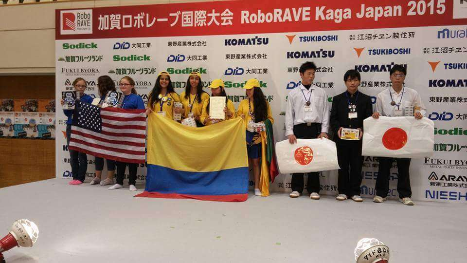 Colombia en RoboRAVE Japan